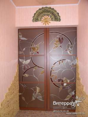 Двери с оформлением витражами в Набережных Челнах Фото 4