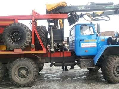 лесовоз УРАЛ 55571-1151-70М