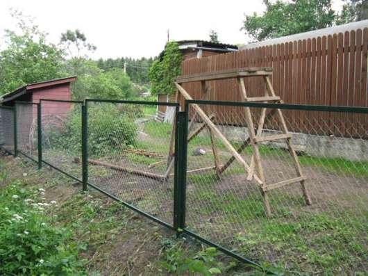 Секции заборные с сеткой или прутьями в г. Дзержинский Фото 1