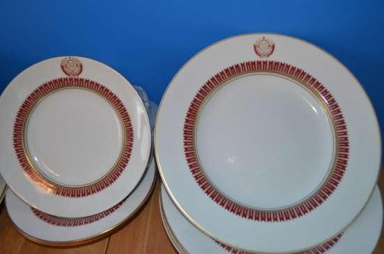 Глубокая тарелка с изображением кремлёвской стены