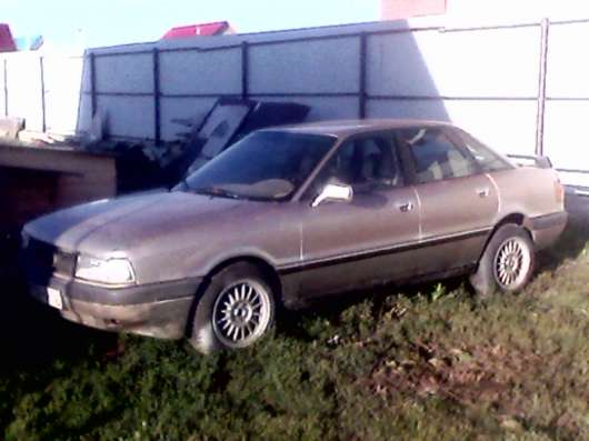Продажа авто, Audi, 80, Механика с пробегом 200000 км, в Уфе Фото 2