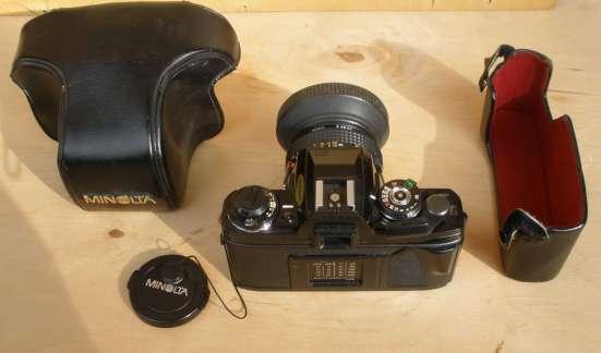 Пленочный зеркальный фотоаппарат Minolta X-700 в Пензе Фото 5