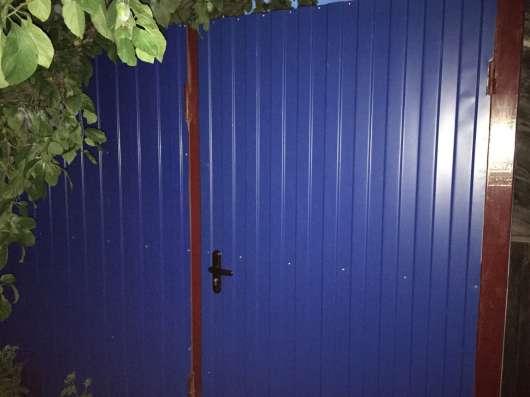 Забор из профнастила Москва и МО Фото 1