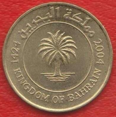 Бахрейн 10 филс 2004 г