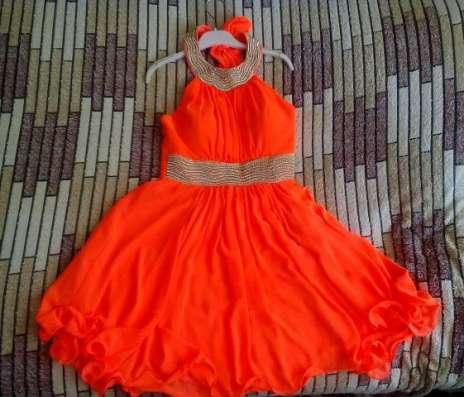 Продам яркое выпускное платье