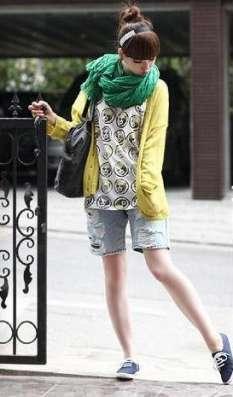 Зелёный шарф - жатка в Перми Фото 2