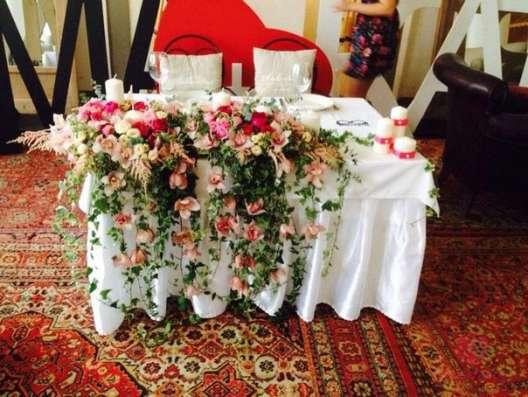 Оформление свадеб, мероприятий цветами, флористика в Москве Фото 4