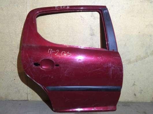задняя правая на Пежо207 (Peugeot 207)
