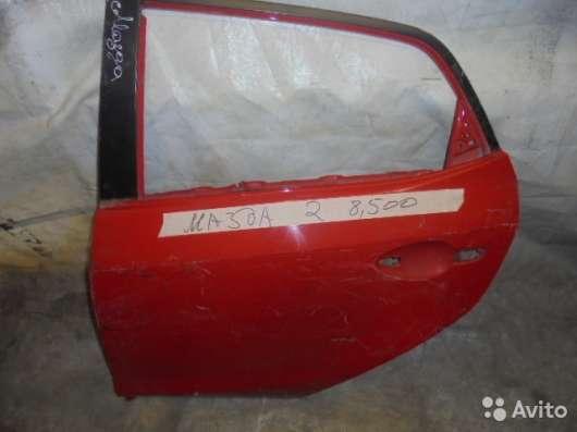 Дверь задняя левая на Mazda 2