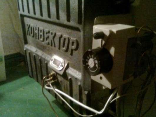 Ремонт конвектора газового. Одесса.