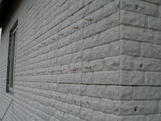 Фасадные панели под декоративный кирпич с утеплителем
