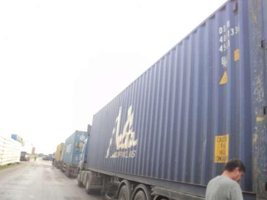 Аренда сухогрузных контейнеров 40НС