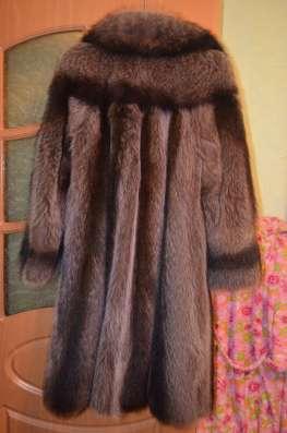 Шуба Енотовая, фабричного пошива
