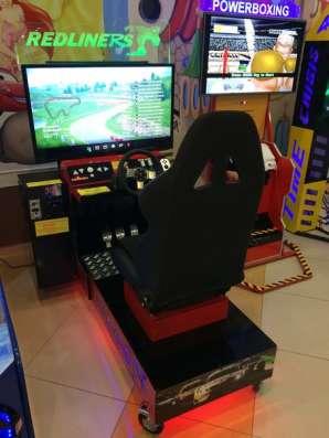Автогонки симулятор развлекательный автомат(новый) в Челябинске Фото 3