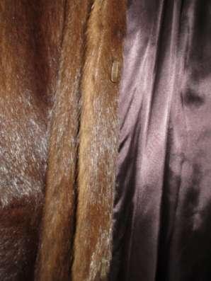 Шубу сурок Шуба длиная р. 44-46 в Хабаровске Фото 1
