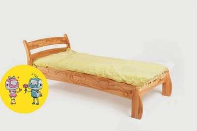 Буковка Б-07 односпальная кровать