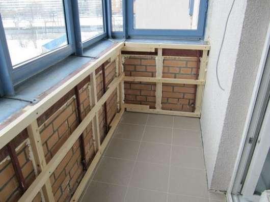 Отделка и утепление балконов и лоджий – варианты оформления в Сергиевом Посаде Фото 1