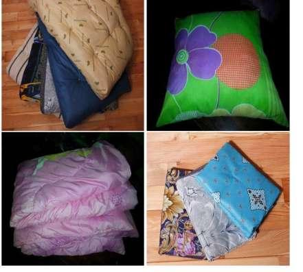 Матрац, подушка и одеяло и постельное бельё! С доставкой!
