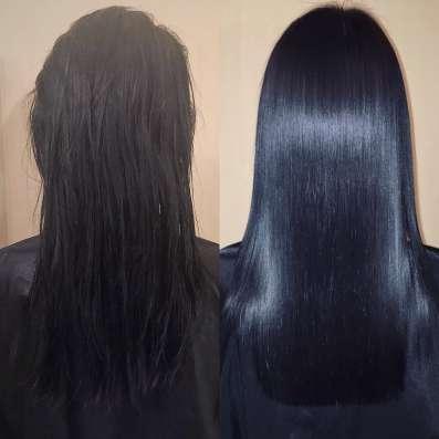 Кератиновое выпрямление волос в Москве Фото 4