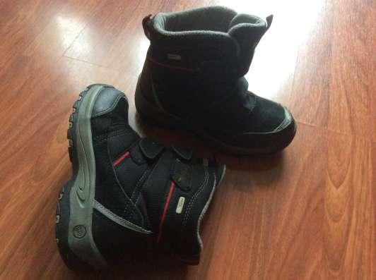 Продам комплект обуви для мальчика 34 размера в Москве Фото 3