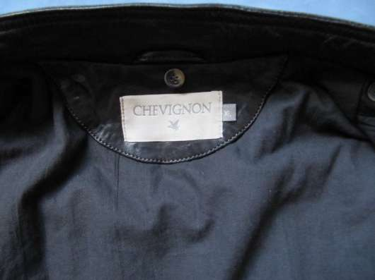 Кожаная куртка Chevignon, 50-52 новая