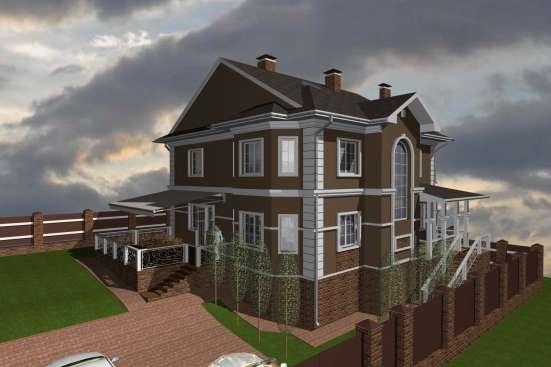 Проектирование коттеджей, загородных домов в Москве Фото 1