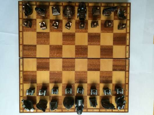 Шахматы сувенирные металл