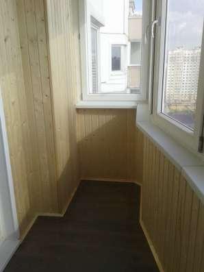 Лоджии, балконы, отделка сайдингом, окна ПВХ