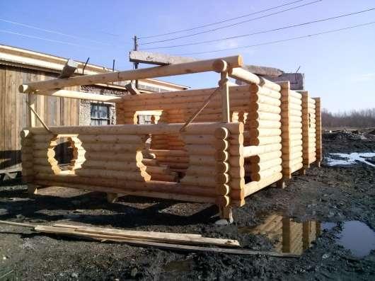 Строим дома, бани, беседки в Барнауле Фото 1