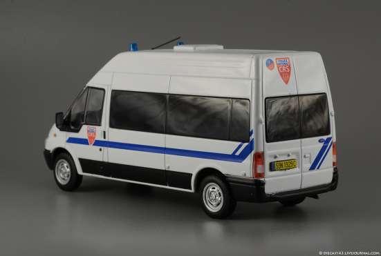 полицейские машины мира №41 FORD TRANSIT полиция франции