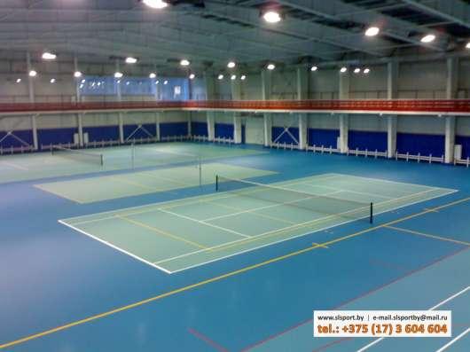 Строительство теннисных кортов в г. Минск Фото 3