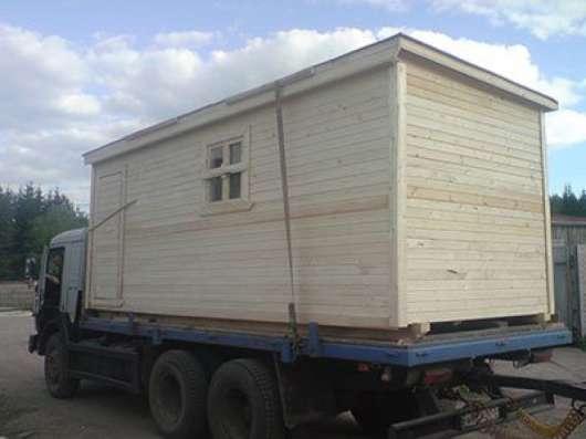 Производство и доставка дачных бытовок по Москве и области