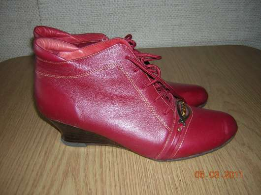 Красные ботиночки в Санкт-Петербурге Фото 1