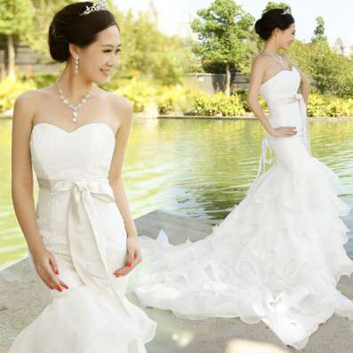 Свадебные платья большой выбор в Москве Фото 2