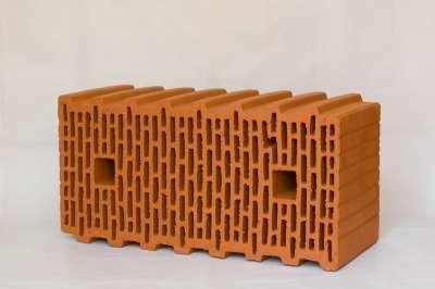 Керамический поризованный блок BRAER, 14