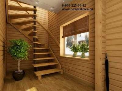 Красивые лестницы для дома, коттеджа Новая Лестница в Орехово-Зуево Фото 4