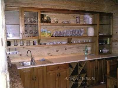 Кухни из массива дерева в Самаре Альфа-Мебель в г. Самара Фото 1