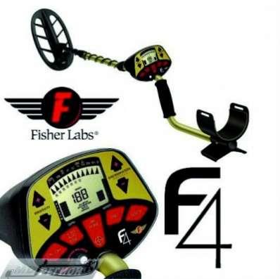 Металлодетектор Fisher F4