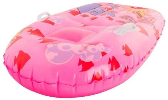 Плот с окном и держателем розовый 99 cм анимация Bestway