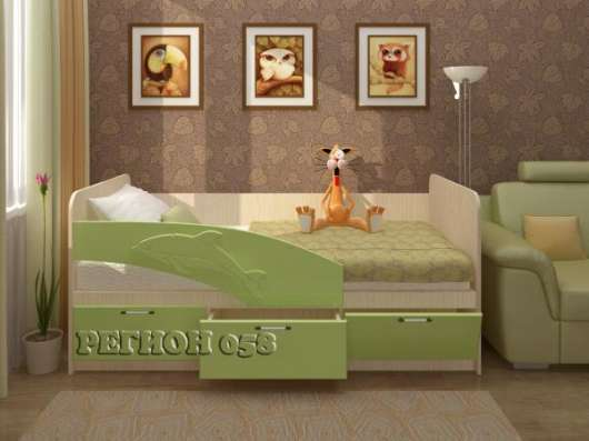 Детская кровать Дельфин 1,6 м в Екатеринбурге Фото 4