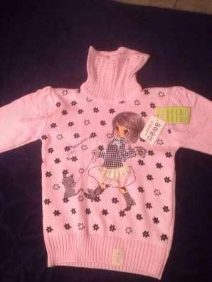 Новый свитер. На 5 лет. Рост 98-110