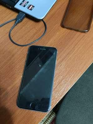 Продам iphone 6 64 гб спейс грей всё есть каробка наушник