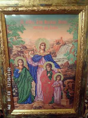 Картины ручная работа ниткой и бисером в г. Киев Фото 1