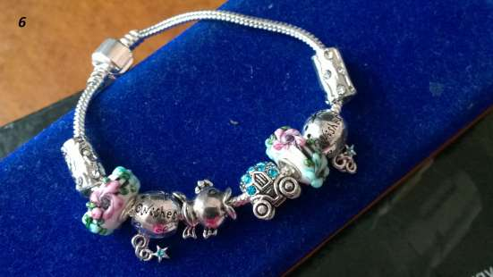 Пандора Pandora браслеты с шармами