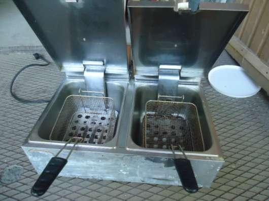 Фритюрница, две ванны