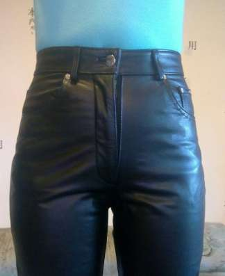 Штаны кожаные