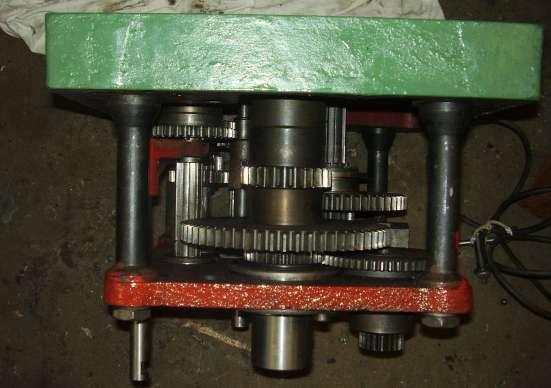 Коробка скоростей вертикально сверлильного станка 2Н135, 2Н
