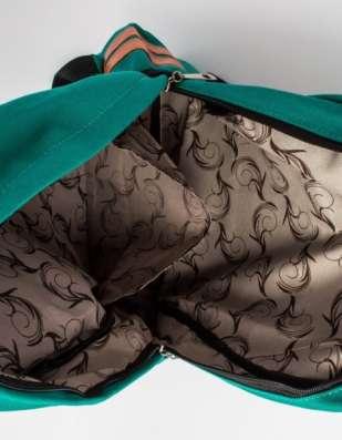Рюкзак в этническом стиле зеленый в г. Запорожье Фото 2
