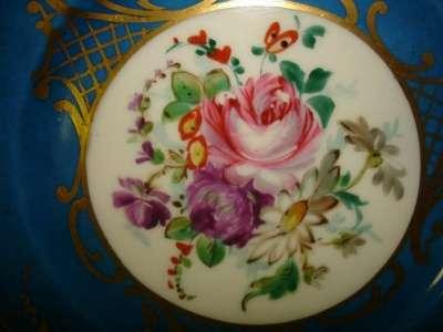 Старин.чашка и тарелочка,фарфор,живопись в Санкт-Петербурге Фото 5