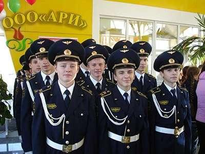 Кадетская форма железнодорожников в Челябинске Фото 2